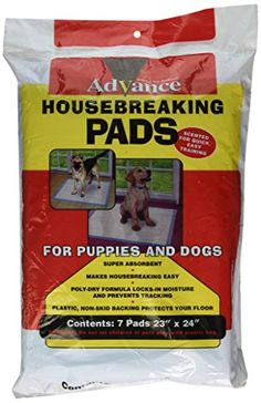 Coastal Pet Products DCP8007 7Pack Advance Dog Training Pads with Plastibacking * Click on the image for additional details.