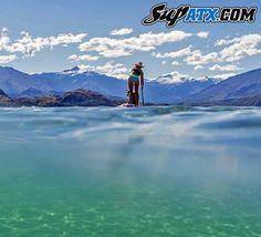 Heaven on Earth:  New Zealand!   SUP ATX is the #1 Paddle Board Maker Worldwide!  www.SUPATX.com  #supatx #paddleboard #sup