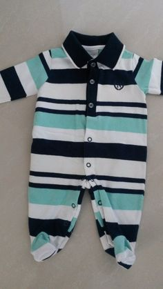Macacão Listrado Noruega Baby - RN - Lindoooo - Noruega Baby - Para menino - Recém Nascido - 149192 Fashion Kids, Baby Knitting, Baby Room, Rompers, Boys, Outfits, Clothes, Dresses, Toddler Boy Clothing