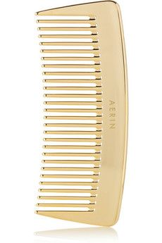 AERIN Travel Gold-Tone Comb | NET-A-PORTER