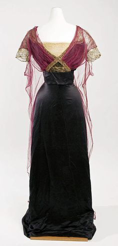 Dress  Callot Soeurs, 1911  The Metropolitan Museum of Art