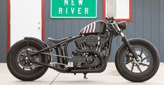 This Sportster terrorizes the streets of Carefree, Arizona