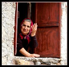 yiayia. That's me, only this grandma is not so traditional.