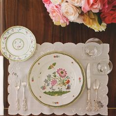 Joe Nye is the very best on table setting! love his book...
