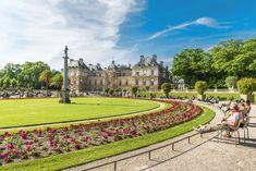 Οι Κήποι του Λουξεμβούργου (Jardin du Luxembourg) , Παρίσι, Γαλλία, Ευρώπη Luxembourg Gardens, Mansions, House Styles, Manor Houses, Villas, Mansion, Palaces, Mansion Houses, Villa