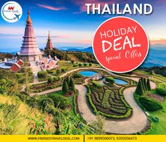 THAILAND SUMMER SPECIAL OFFERS! BOOK HOLIDAY DEAL TO VISIT THAILAND.CONTACT: FRIENDSTRAVELS 9899506073