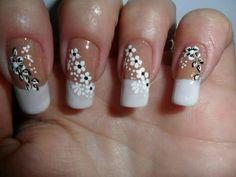 Creative Nails, Nail Art Designs, Beauty, Fashion, Nice Nails, Nail Bling, Adhesive, Model, Christmas Nails