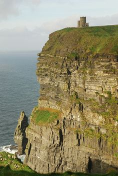 O'brien's tower - The Cliffs of Moher- Liscannor, Co. Clare, Ireland