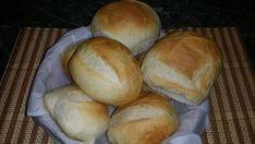 Kenyér, zsemle és kifli (egy tésztából) - Ketkes.com Ciabatta, Baked Goods, Hamburger, Rolls, Bread, Baking, Recipes, Food, Buns