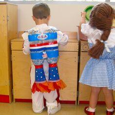 Astronaut Jetpack birthday party favors costume rocket $25