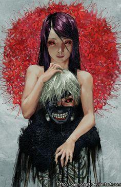 https://touch.pixiv.net/member_illust.php?mode=medium&illust_id=55726518 Tokyo Ghoul  Rize