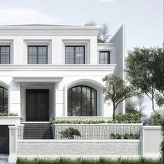 The Effective Pictures We Offer You About Cultural Architecture buildings A quality picture can tell Architecture Design, Classic Architecture, Facade Design, Residential Architecture, Exterior Design, Cultural Architecture, White House Architecture, Classic House Exterior, Classic House Design