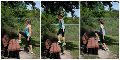 Who needs a gym when you can get this good of a workout on the playground. Love this post, saving it to take with me next time