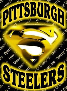 ~~it's a bird.it's a plane.it's Super Steelers~~ Pittsburgh Steelers Wallpaper, Pittsburgh Steelers Football, Pittsburgh Sports, Pittsburgh Pirates, Football Baby, Pittsburgh Penguins, Dallas Cowboys, Football Team, Steelers Images