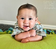Simply LUXE Photography: {3 month old Baby Boy photoshoot}