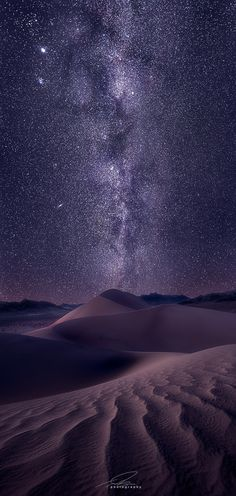 Milky Way. Death Valley