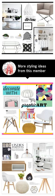 """""""Untitled #2310"""" by liliblue on Polyvore featuring interior, interiors, interior design, home, home decor, interior decorating, Eichholtz, Lux-Art Silks, Nuevo and Rane"""