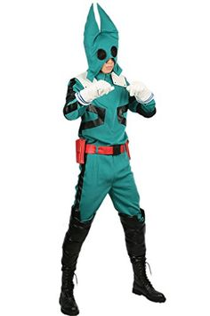 XCOSER Boku no Hero Academia Midoriya Izuku Cosplay Costume Battle Suit XL ** You can get additional details at the image link-affiliate link.