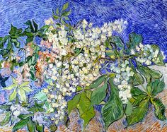 Vincent Van Gogh, Blossoming Chestnut Branches, 1890