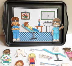 This dental health vocabulary activities pack, with 5 speech therapy activities that will help reinforce theme based vocabulary for PreK & Kindergarten Health Activities, Vocabulary Activities, Interactive Activities, Speech Therapy Activities, Preschool Activities, Dental World, Dental Health Month, Teaching Kindergarten, Dental Health