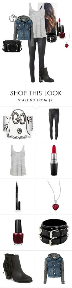 """""""Arden Anderson - Clap Your Hands If You Believe (S06E09)"""" by katlayden ❤ liked on Polyvore featuring Gucci, Burberry, Project Social T, MAC Cosmetics, Elizabeth Arden, Adriana Orsini, OPI, Yves Saint Laurent, Vince Camuto and rag & bone"""