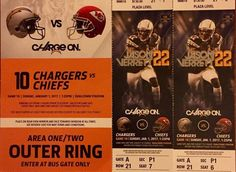 San Diego Chargers VS Kansas City Chiefs TICKETS 1/1/17☀PLAZA LEVEL SEATS + PARK    eBay