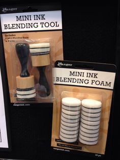Tim Holtz Ranger Ink NEW CHA Winter 2014 Mini Ink Blending Tool - Scrapbook.com