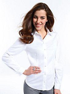 White Blouses at Peter Hahn Blouses For Women, White Blouses, Tunic, Tops, Fashion, Classic White Shirt, Classic White, Shirts, Moda