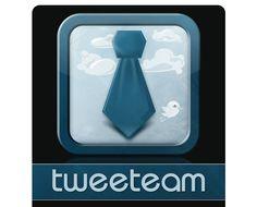 TweetTeam Logo for iPhone