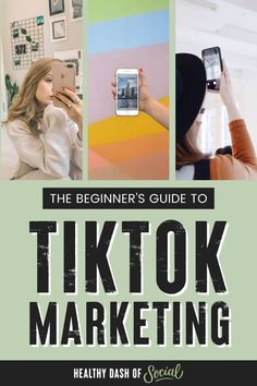 TikTok is a relatively new app that seems to be gaining popularity by the day. While it's a great place for users (generally Gen Zers or Millennials) to create and share their own content, brands are starting to catch on that this app likely isn't going away anytime soon, and can be a great opportunity to reach their target audience in a new way. Here's a look at what TikTok is and how you can make it part of your overall marketing strategy. #tiktok #socialmedia #tiktokmarketing Digital Marketing Strategy, Social Media Marketing, Business Entrepreneur, Business Tips, Target Audience, Influencer Marketing, Social Media Tips, Blog Tips, Time Management