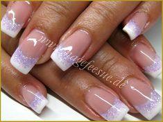 Gel Nail Tips, Nail Manicure, Nail Polish, Nail Art Designs, French Nail Designs, Accent Nails, French Nails, Cute Nails, Pretty Nails