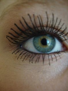 my makeup, long eyelashes