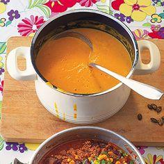 Curry-Kürbis-Suppe Rezept | Küchengötter