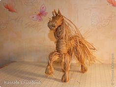 Мастер-класс Плетение Игрушка-поделка из лыка Лыко фото 1