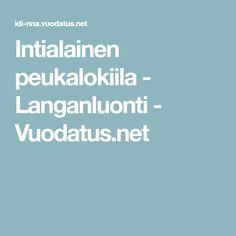 Intialainen peukalokiila - Langanluonti - Vuodatus.net