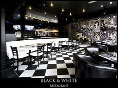 black and white restaurant - - Yahoo Image Search Results
