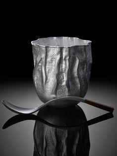 Sugar Pot and Spoon. Hamish Dobbie 2013.