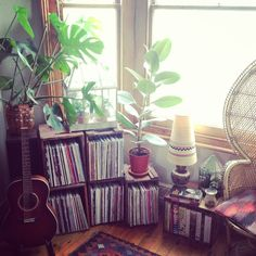 I need a corner of this in the new house that's not like my nook. I want it more  out in the open!