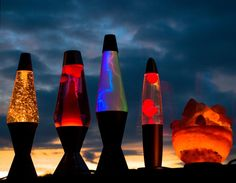 I want to collect enough lava lamps to fill a bookcase