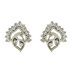 Amazon.in: Buy Round Stud Earrings For Girls Silver Jewelry Handmade at Low Prices in India | Fashion Jewellery Store