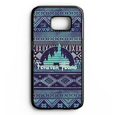 Forever Young Disney Aztec Pattern Samsung Galaxy S6 Edge Plus Case