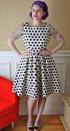 Gertie's - Polka Dotty Dress