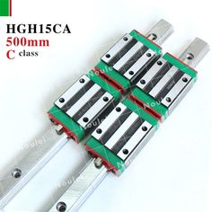 138.75$  Watch now  - HIWIN HGH15CA guia linear guide block with HGR15 rails 500mm for DIY CNC parts HGH15 HGH High efficiency