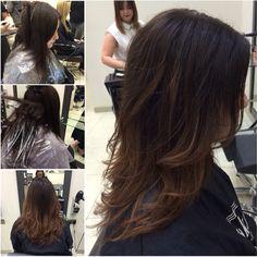 Subtle brunette balayage by Sarah Black #saksaberdeen #balayage