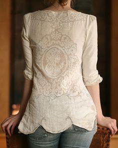 Table cloth shirt