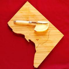 Washington DC Cutting Board by AHeirloom on Etsy $30