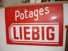plaque émaillée Liebig