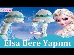 Örgü Elsa Bere Yapımı Detaylı Anlatımlı - Disney - Canım Anne - YouTube