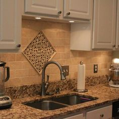 White Ice Granite Boryana And Dinkos Kitchen Http - Granite countertops with backsplash ideas