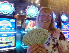 She won $717! Way to go Joan! #winning